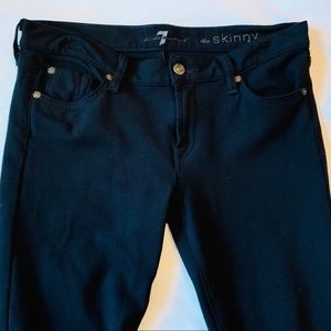 "7 For All Mankind Stretch ""The Skinny"" Jeans/Pants"